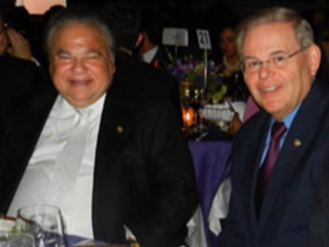Salomon Melgen and Robert Menendez