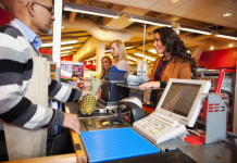 image of cashier