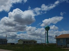 Pine Ridge reservation, South Dakota
