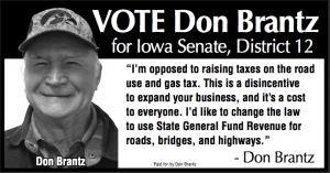 Donald Brantz for Iowa Senate