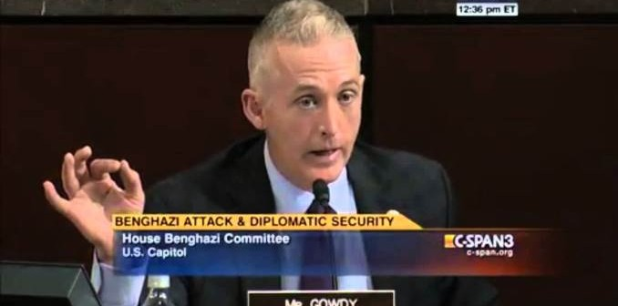Benghazi Blowback: Trey Gowdy, Committee Sued For Defamation