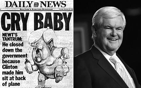 Gingrich cry