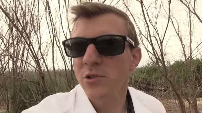 james o keefe impersonates eminem then begs for money