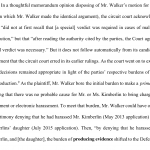 Aaron Walker Attorney at Law, forgot to introduce evidence that he didn't harass anyone. He just forgot that major piece of evidence to introduce at trial.