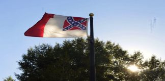 Confederate flag flies outside Danville Museum