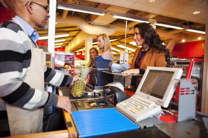 image of cashier
