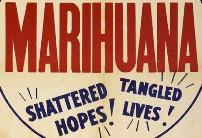 marijuana propaganda poster