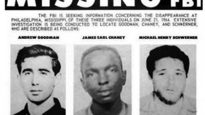 Missing Poster From Freedom Summer