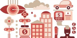 car sharing economy concept