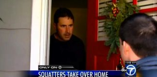 squatters move into million dollar home