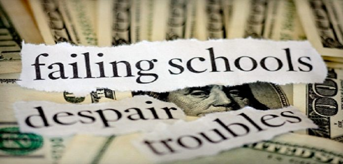 failing schools What is a 'failing' school  the solution to failing schools, according to secretary of education arne duncan, is to fire the staff and close the school.