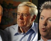 Rand Paul Kissing Koch Brothers' Asses: 'Libertarianism' In A Nutshell