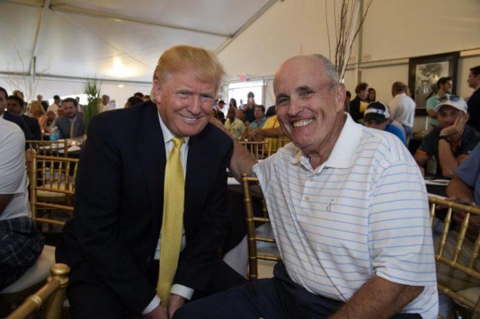 Trump and Rudy